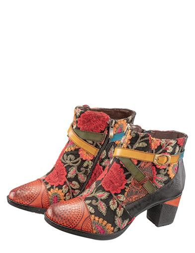 Abigail Artisan Ankle Boots