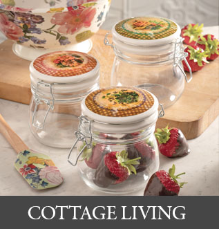 Shop Cottage Living at Victorian Trading Co