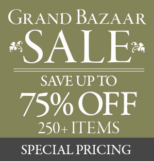 Shop the Grand Bazaar Sale at Victorian Trading Co