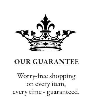 Worry Free Shopping at Victorian Trading Co.