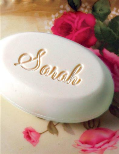 Personalized Soap White Honeysuckle