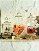 Poison Apothecary Jars (Set Of 3)