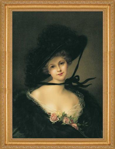 Merry Widow Framed Print
