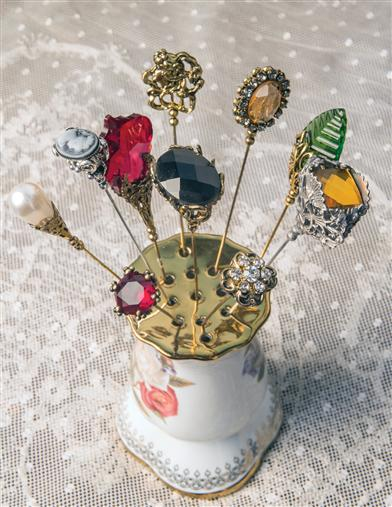 Beautiful Hatpins (Set Of 10)