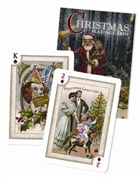 19Th Century Christmas Playing Cards