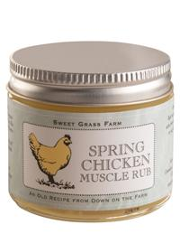 Spring Chicken Muscle Rub