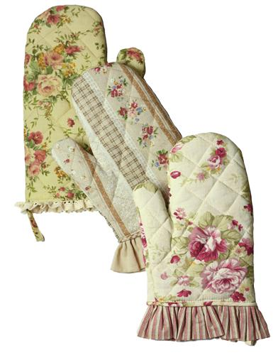 Primrose Oven Mitts (Set Of 3)