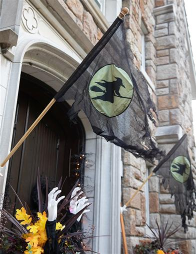 Tattered Witch Flag