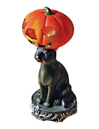 Kitty Cat's Hat Table Lamp