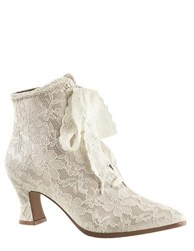 Victorian Lace Boots