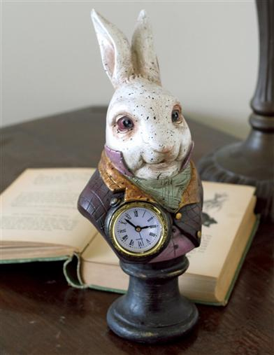 White Rabbit Clock
