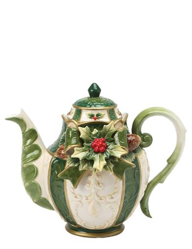 Bayberry Cottage Teapot