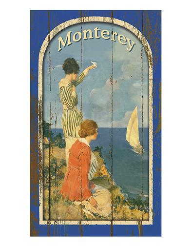 Monterey Wooden Wall Art