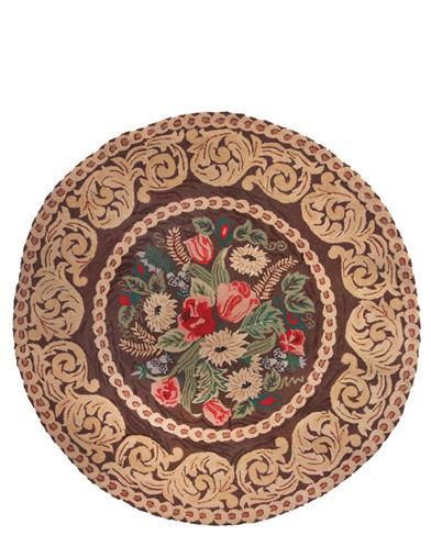 Enchanted Woods Cabin Rug