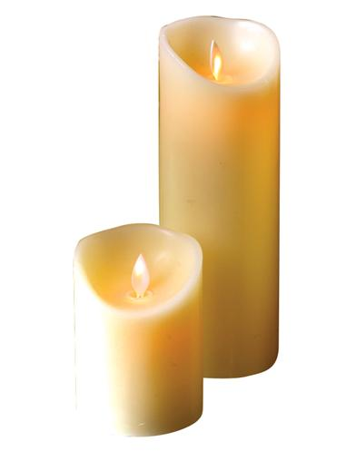 Waxing Poetic Flicker Flame Candle (Tall)