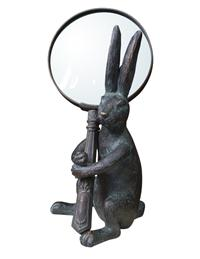 Handy Hare Magnifying Glass & Holder