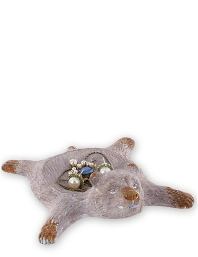 Bear Rug Trinket Tray
