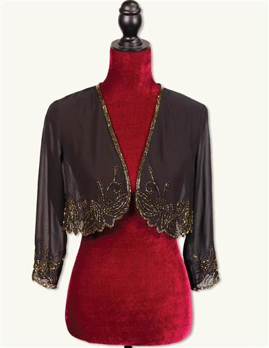Speakeasy Sequined Shrug