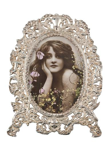 Floral Angels Picture Frame