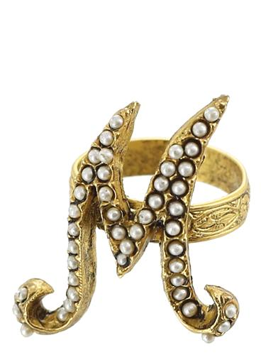 Pearly Initial Ring