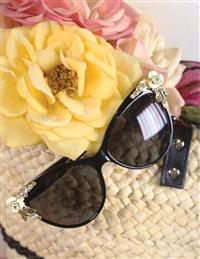 Riviera Sunglasses Black