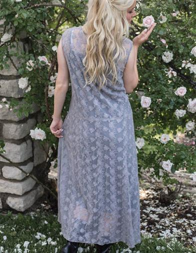 April Cornell Lace Flapper Dress