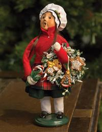 Byers' Choice Girl With Gingerbread