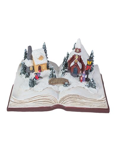 Snow Village Music Box
