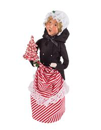 Byers' Choice Candy Cane Woman