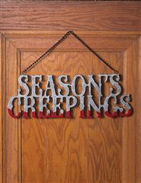 Season's Creepings Wall Decor