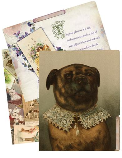 Trusted Companions File Folders (Dog - Set Of 6)