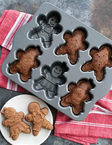 Gingerbread Cakelets Pan