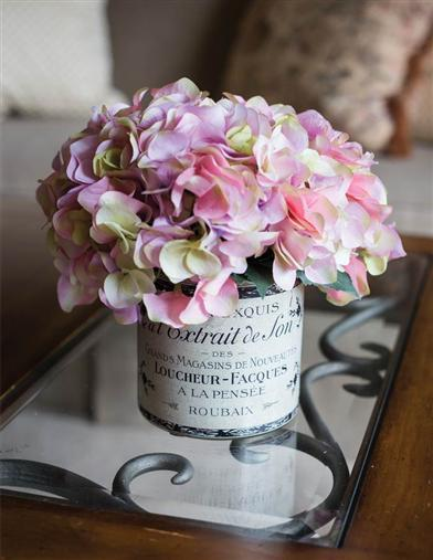 Blush Of Spring Centerpiece