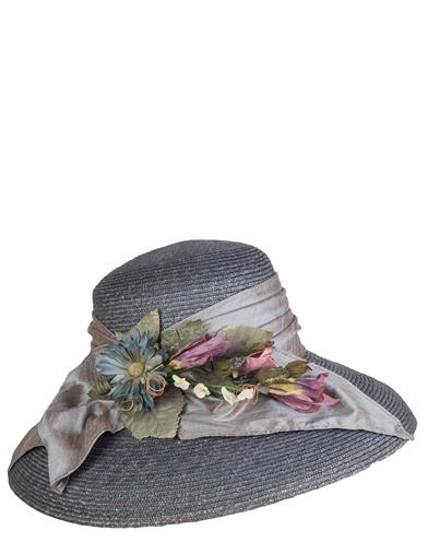Watercolor Shade Straw Hat