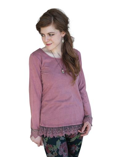 April Cornell Layla's Lacy T-shirt