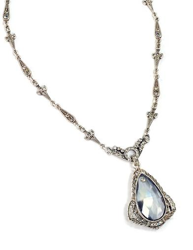 Art Deco Prism Necklace