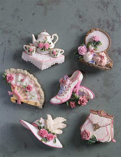 Victorian Magnets (Set Of 6)