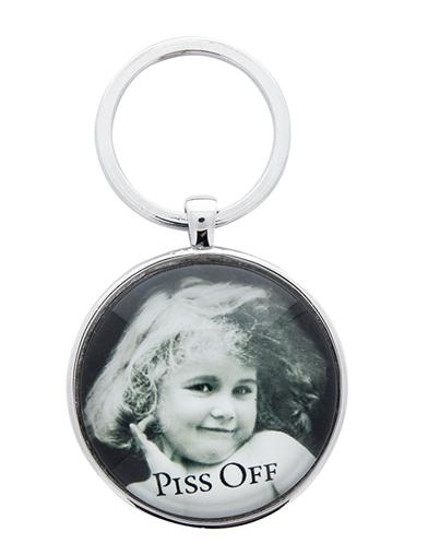 Piss Off Key Ring
