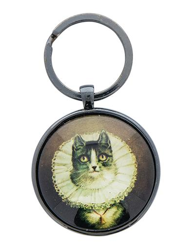 Fancy Feline Key Ring