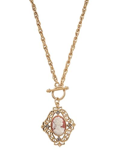 Camille Cameo Necklace