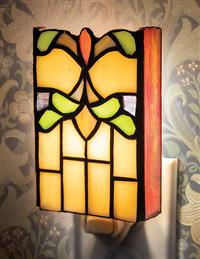 Art Deco Stained Glass Nightlight