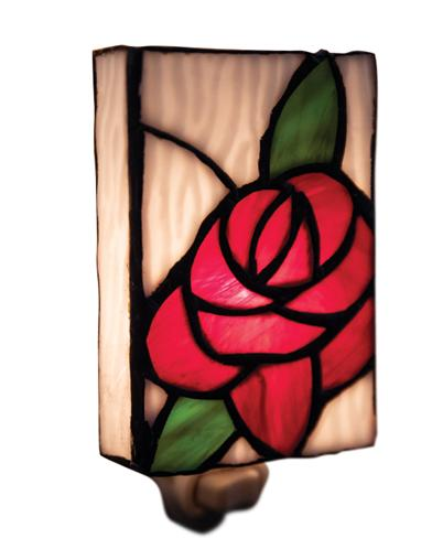 Tiffany Rose Nightlight