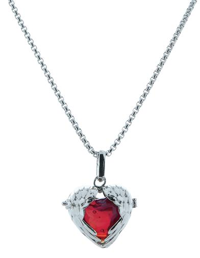 Angelic Heart Perfume Necklace
