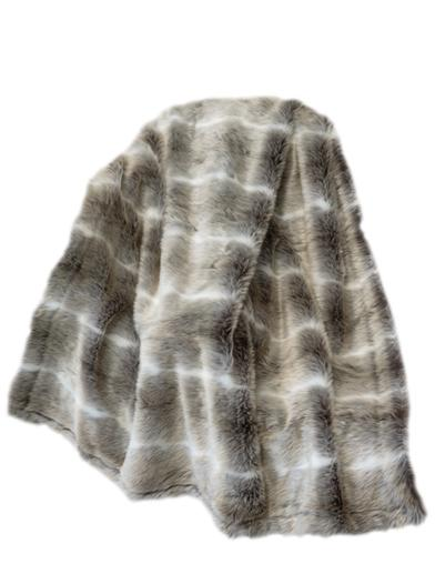 Arctic Wolf Throw
