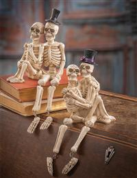 'Til Death Do Us Part Skeleton Shelf Sitters