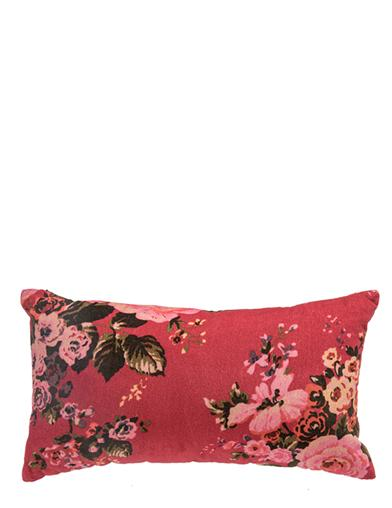 Beau Bouquet Velvet Pillow