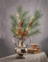 Enchanted Evergreen Lighted Branch