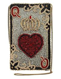 Mary Frances Queen Of Heart Purse