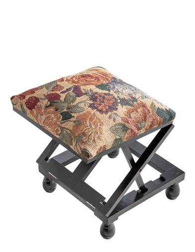 Folding Tapestry Footrest