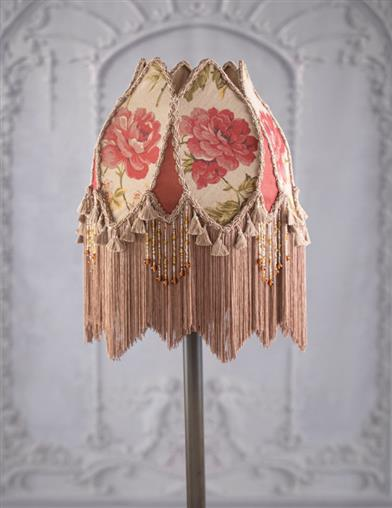 Cottage Rose Lamp Shade